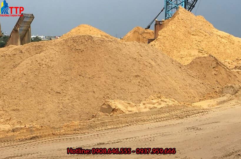 Báo giá cát vàng xây dựng Đắc Nông